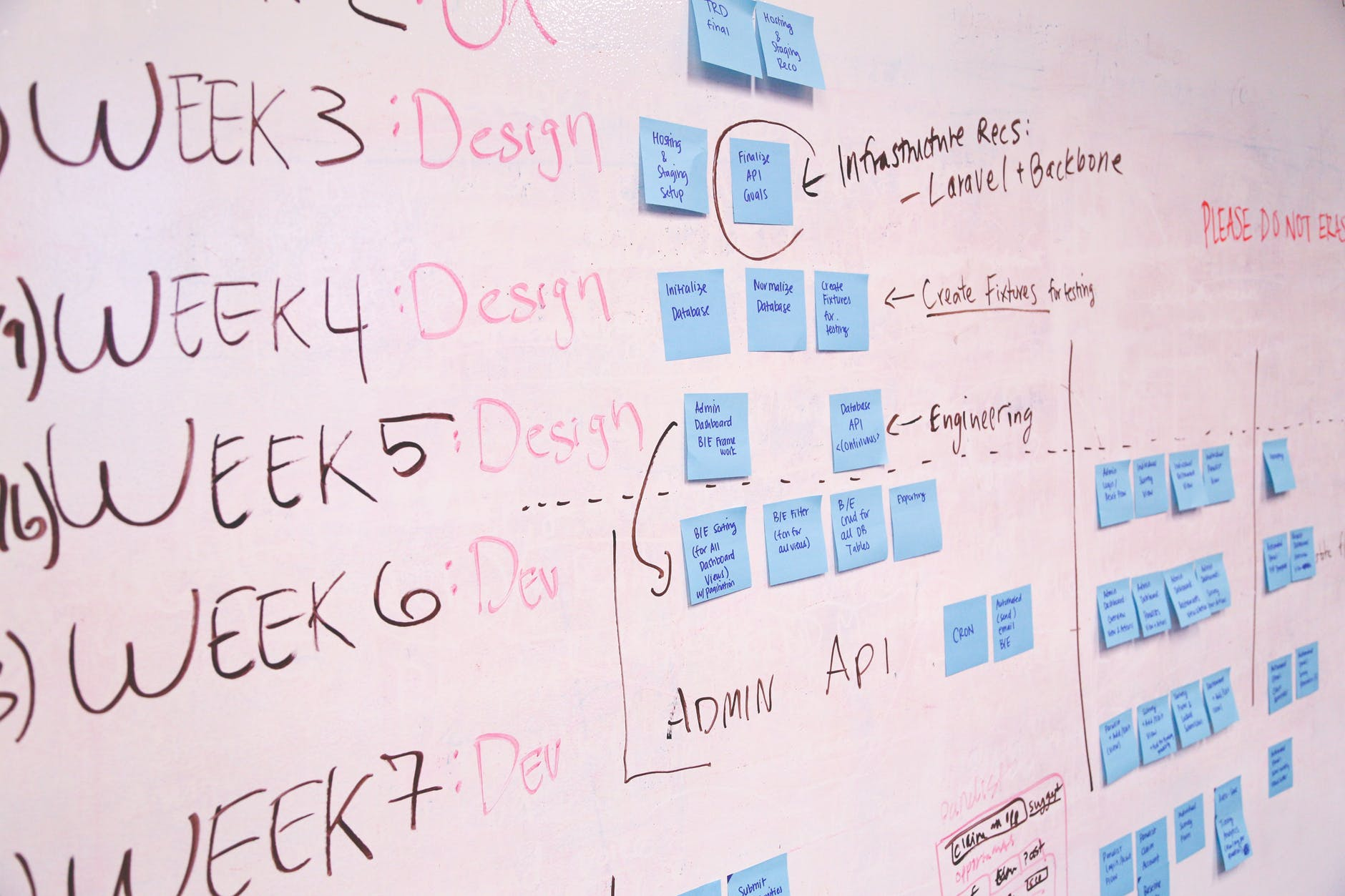 schedule planning startup launching